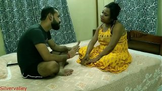 hot desi Girl friend shared with desi friend for some cash With Hindi audio