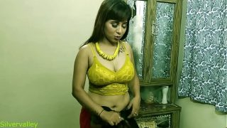 Indian xxx Sexy Madam unexpected sex with his employee With hot audio
