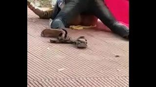 Sex at railway station