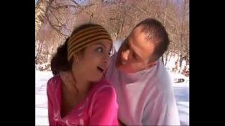 SHAINA BEURETTE FRENCH ARAB SKINNY TEEN FUCKOUTDOOR IN MOUNTAINS DURING SKI