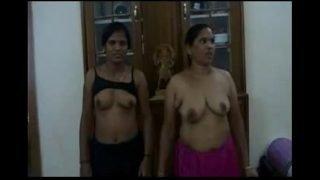 Telugu aunties threesome